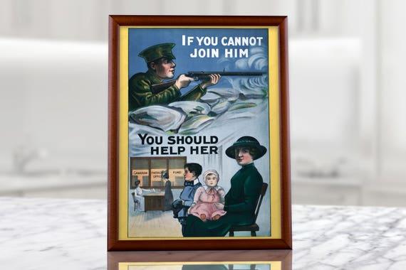 7b66c2a785a British Propaganda Poster UK Vintage Militaria decor lee | Etsy