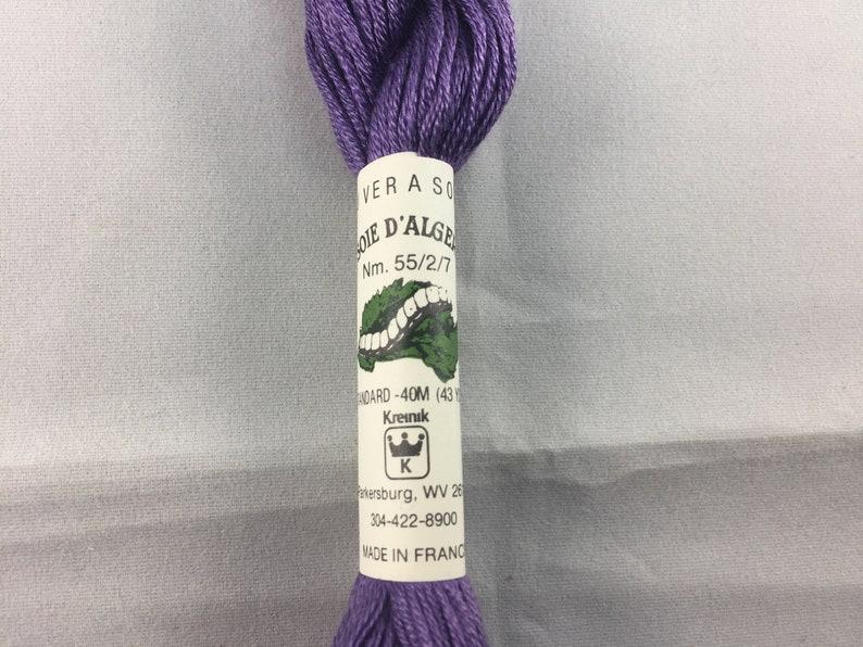 43 Yards 40 Meters Au Ver A Soie Soie d/'Alger Kreinik Color 3335 A Silk Skein