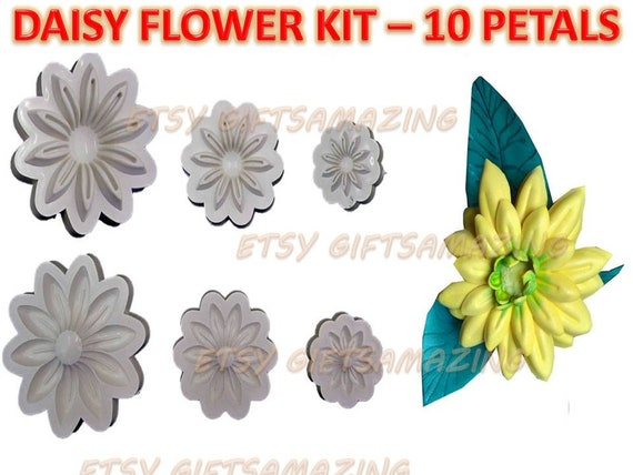 Silvestre Flower Molds 3D KIT Foam Craft Moldes deFlores de Foamy +FREE GIFT