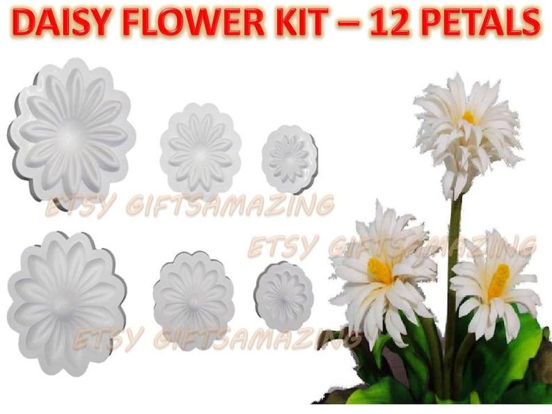 Flower Molds 3d Kit Eva Foam Craft Moldes De Flores Foamy Eva Etsy