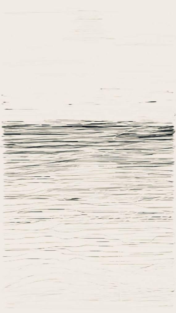 Tide 2 - Thames Estuary - Chalkwell Beach  - February 2018 - Minimalist Fine Art Print.