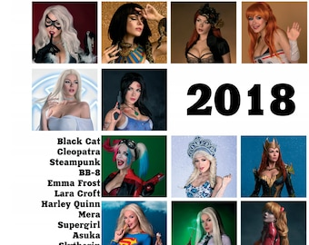 Cosplay Calendar 2018 LIMITED EDITION