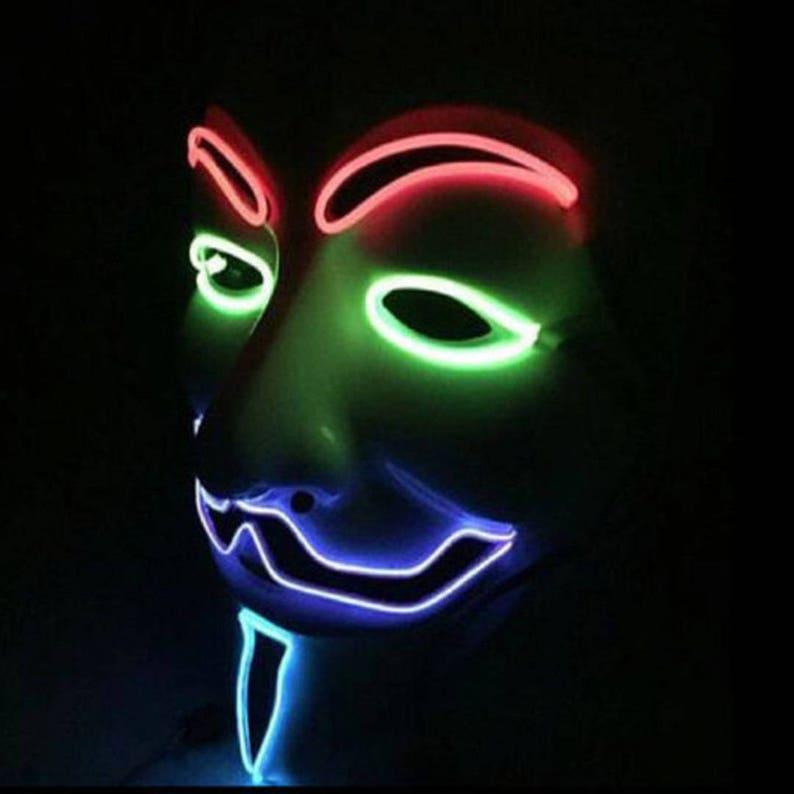 Vendetta 4 Color Glow Mask