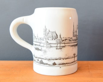 Small Porcelain Beer Stein | Royal Porzellan Bavaria KPM Germany Handarbeit | Collectible Keepsake | Housewarming Gift Present for Him Her