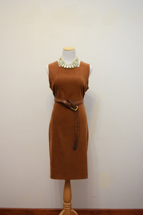 La Redoute Microsuede Sheath Dress | Made in Canad