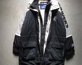pretty nice 07111 f6f11 Raiders nfl jacket | Etsy