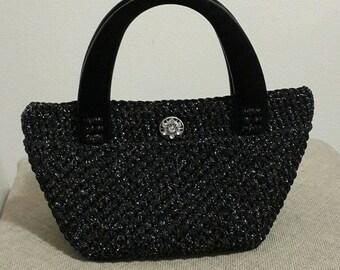 Elegant Crochet Bag