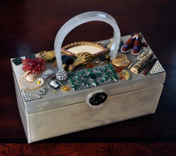 Lucite decorative Handbag from Vegas