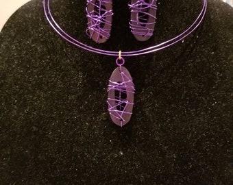 Purple Wire Jewelry