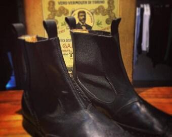 Boot nero uomo