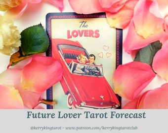 Your Future Soul Mate Tarot Reading, written forecast with Metro's Kerry King, via pdf/email