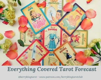 Everything Covered Tarot Reading, written forecast with Metro's Kerry King, via pdf/email