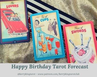 Happy Birthday Tarot Reading, with Metro's Kerry King, via pdf/email