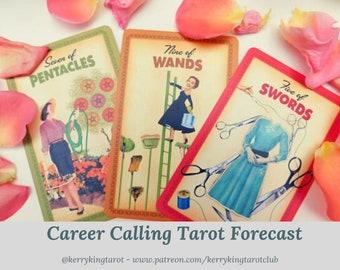 Career Tarot Reading, written forecast with Metro's Kerry King, via pdf/email