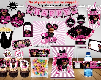 Boss Baby Birthday Boss Baby Birthday Party Decoration Etsy