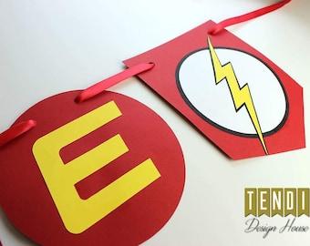 The Flash Birthday Banner