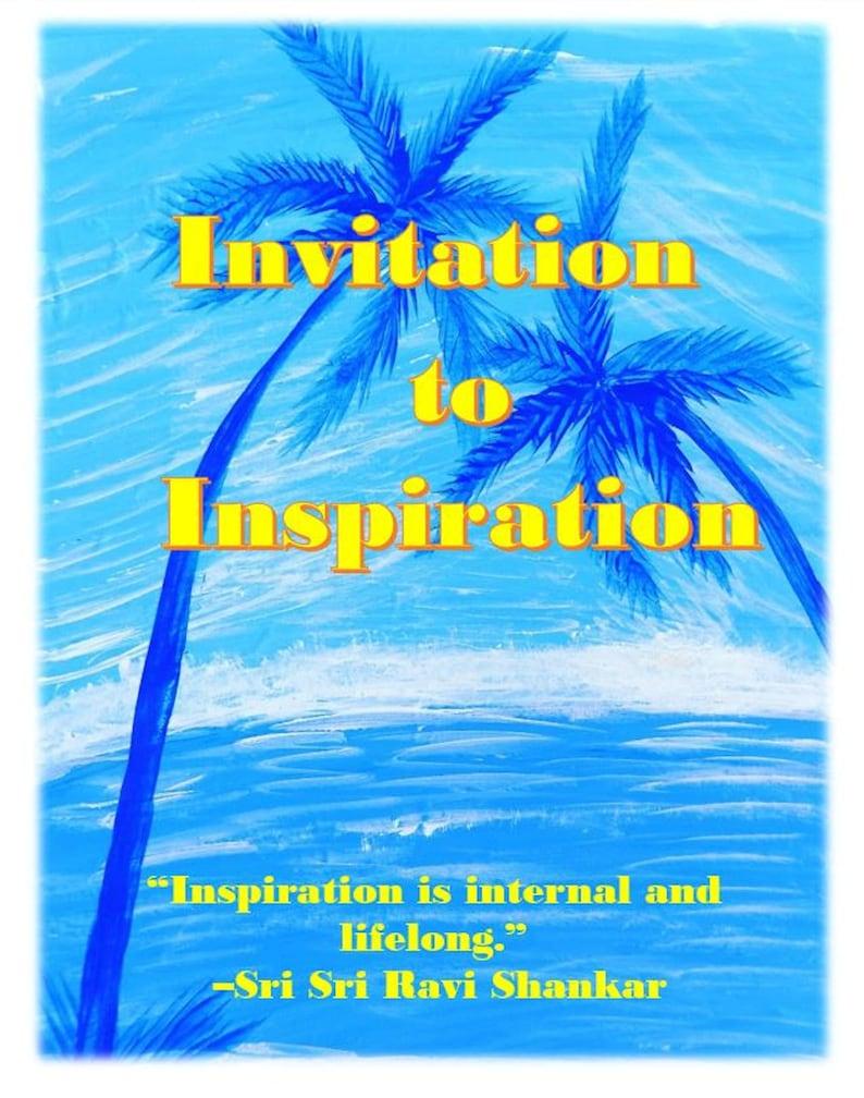 Invitation to Inspiration/ Everyday Vacay Cyber Seminar Series image 0