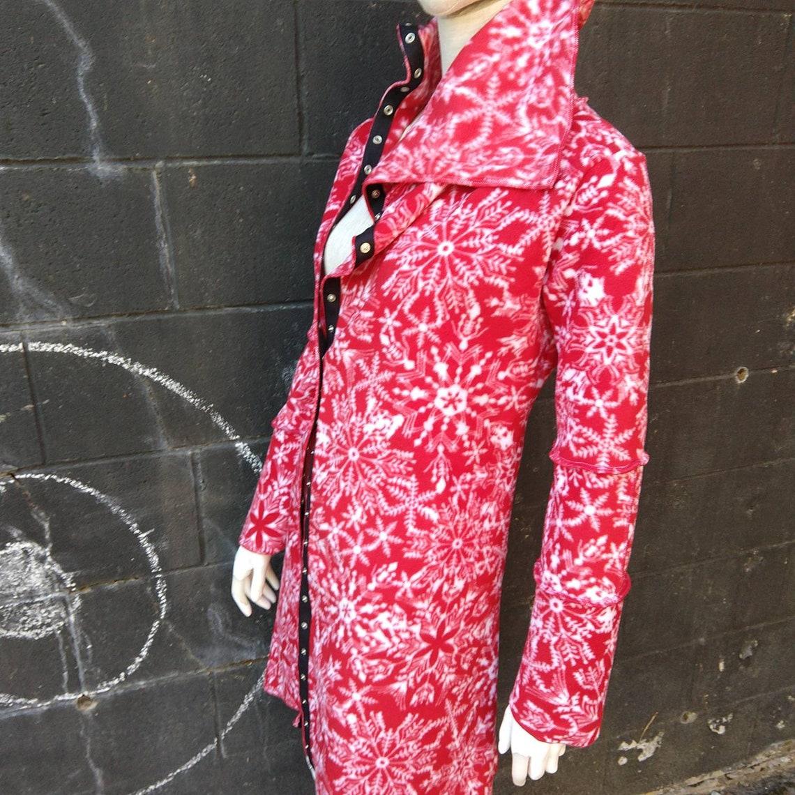 1/2 Price Sale Asymmetric Fleece Jacket : Santa's Helper