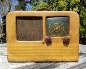 Rare 1940 39 s Zenith Universal Radio Model 5G603M Tube Radio - Needs Restoration