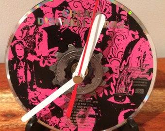 CD Recycled Sprocket Bike Clock - Disraeli Gears
