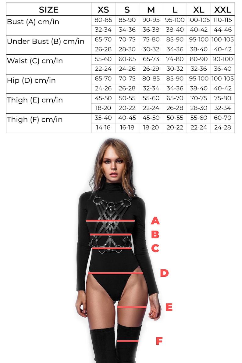 Halloween lingerie Leather skirt Harness skirt Cage skirt Bondage skirt Plus size halloween costumes for women Adult halloween costumes