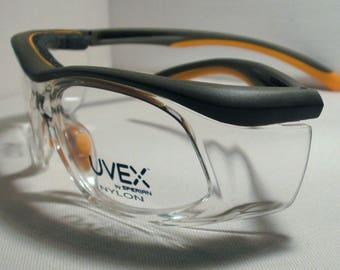 Captain Jack's HOBBY GLASSES - SW-06 - Color: Orange/Black - Frames Rx-Able if needed