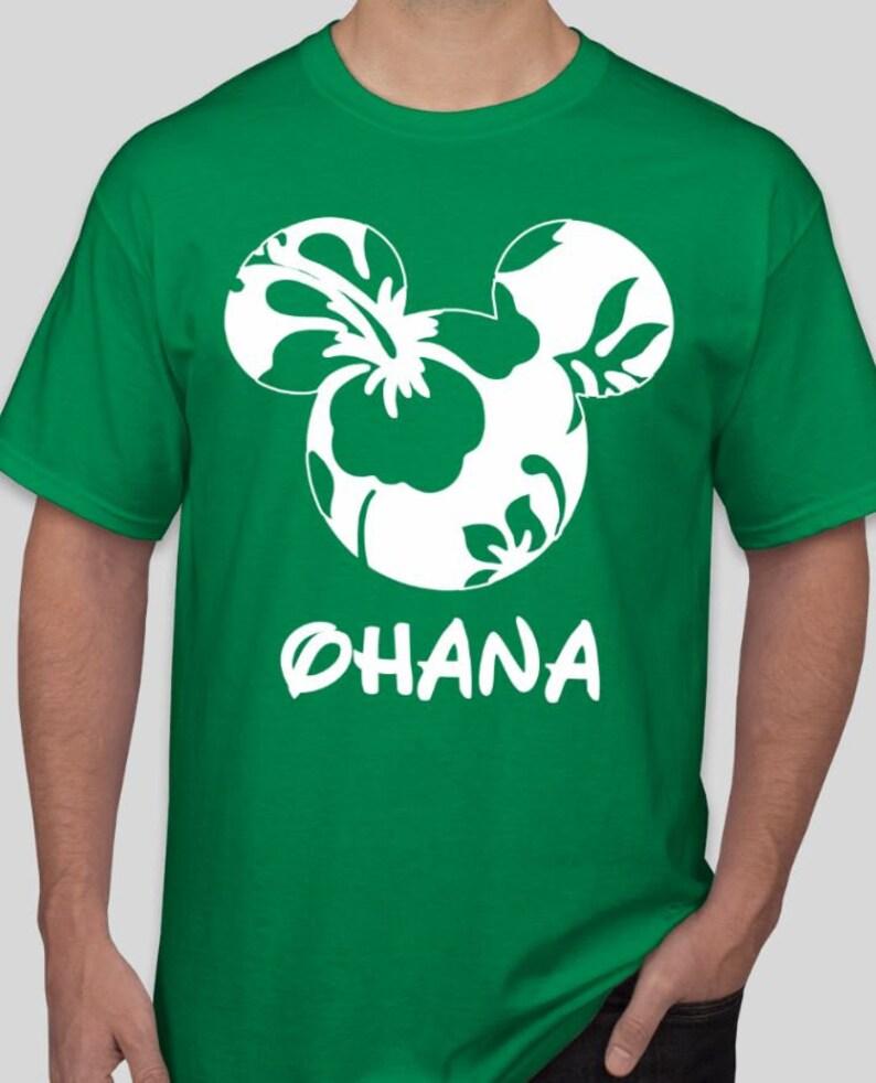 6d3ce4ce Ohana Disney Family Mickey Minnie Shirts Matching Vacation | Etsy
