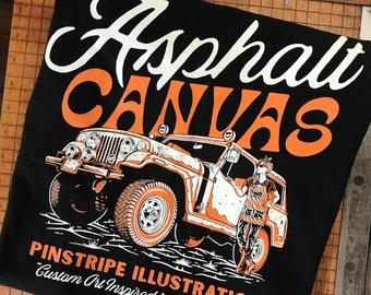 Misprinted ACCA T-Shirts