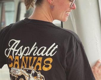 Asphalt Canvas T-Shirt