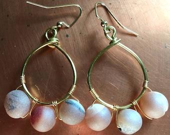 Handmade Fairy Boho Natural Earrings