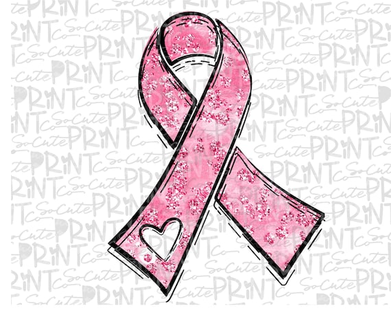 Awareness Pink Ribbon Clipart Breast Cancer Awareness Png Etsy