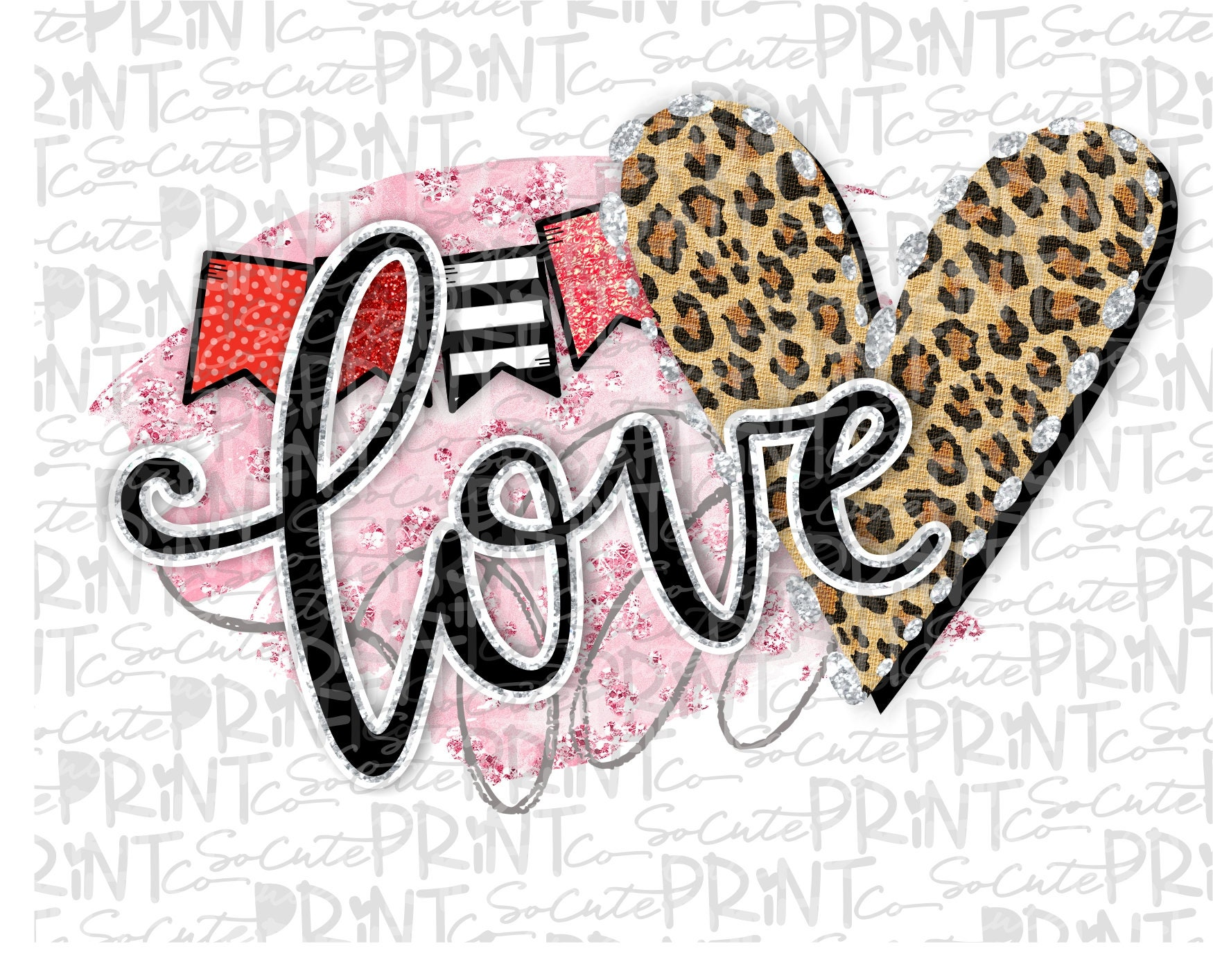 Valentines Day Love You Clipart Valentine Png File For Etsy