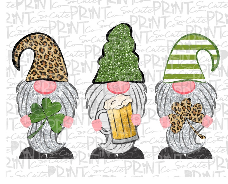 Download St Patricks Day gnome clipart 3 gnome with beer png file ...