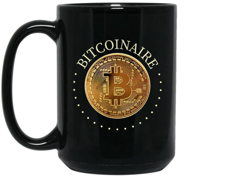 Bitcoin Mug Cryptocurrency Coffee Cup Bitcoinaire image 0