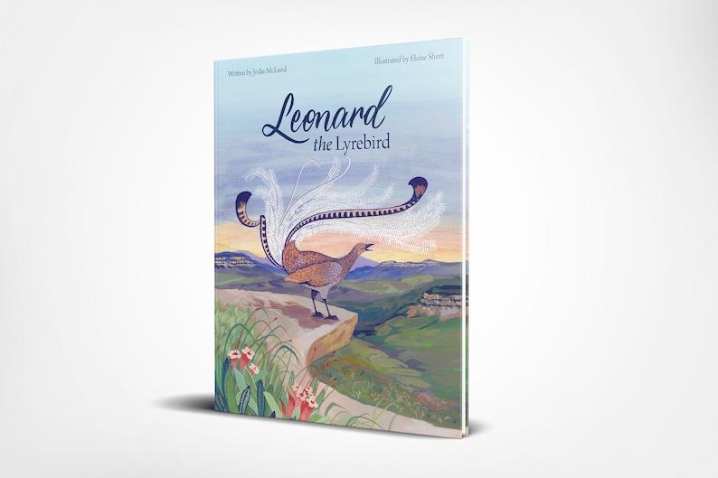 Leonard the Lyrebird  Blue Mountains children's book  image 0