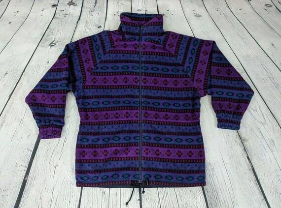 Head 1990s Vintage Women's Purple Western Southwes