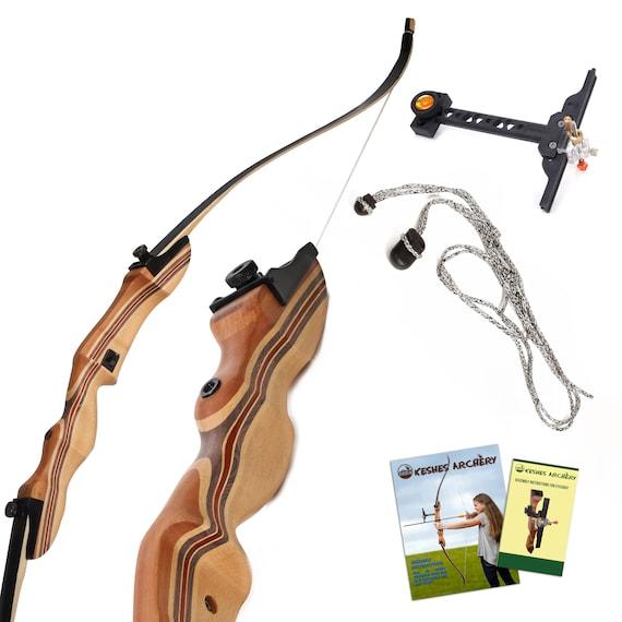 Archery Takedown Recurve Bow Set ABS Hunting Shooting Games Christmas Xmas Gift