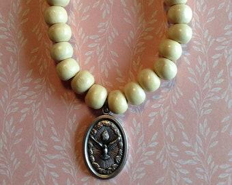 Holy Spirit Medal Bracelet