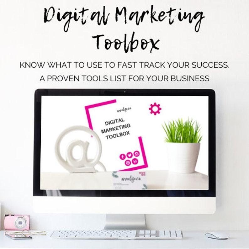 Digital Marketing Toolbox  All the marketing tools you need image 0