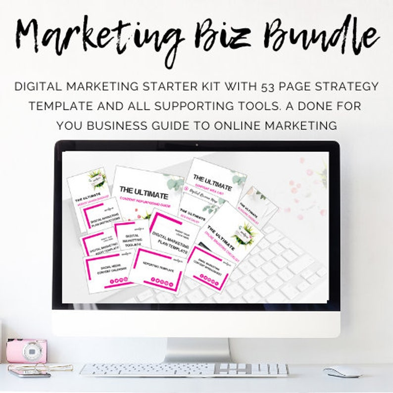 Marketing Biz Bundle  Digital Marketing Strategy Course and image 0