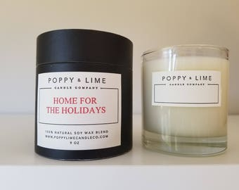 HOME for the HOLIDAYS Boutique Candle