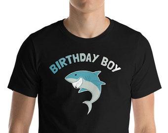 Birthday Shirt - Birthday Boy - Shark Shirt - Shark - Shark Birthday - Shark Week - Sharks - Shark Tshirt - Shark Birthday Shirt