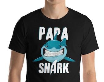 Dad Shirt - Papa Shark - Shark Shirt - Shark - Shark Birthday - Shark Week - Sharks - Shark Tshirt - Shark Birthday Shirt - Shark Party