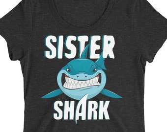 Sister Shirt - Sister Shark - Shark Shirt - Shark - Shark Birthday - Shark Week - Sharks - Shark Tshirt - Shark Birthday Shirt - Shark Party