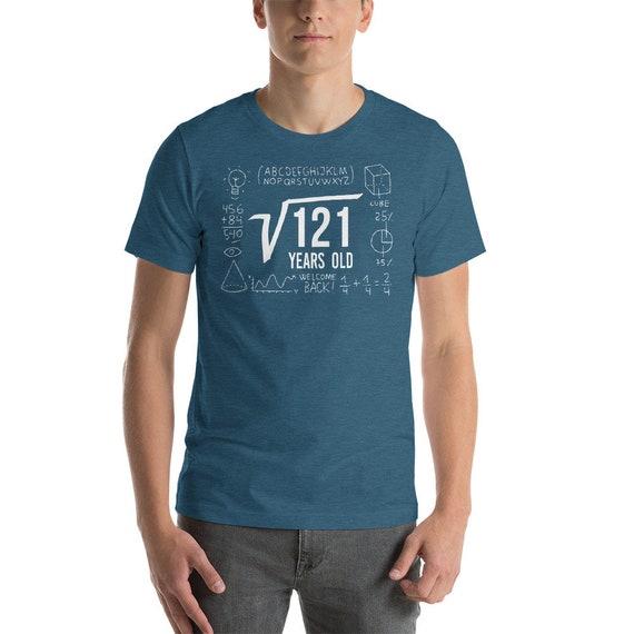 11e anniversaire chemise - tournant 11 chemise - ans 11 ans - vieux anniversaire - anniversaire du Nerd chemise - chemise de mathématiques - racine carrée - Geek anniversaire 752111