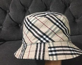 2738bd820e808 Burberry Bucket Hats  Burberry reversable Bucket Hats Burberry Nova Check  Design 58cm Japan item