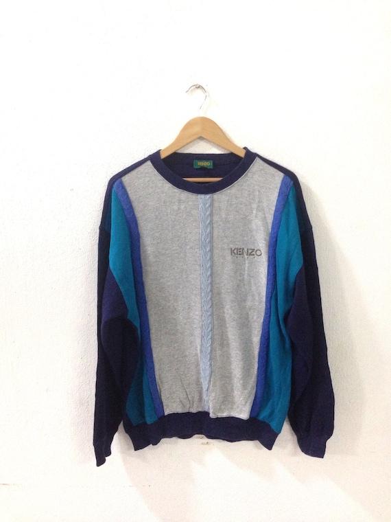 On sale!!! vintage 90s kenzo sweatshirt / kenzo M… - image 1