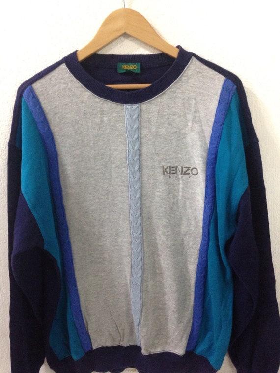 On sale!!! vintage 90s kenzo sweatshirt / kenzo M… - image 2