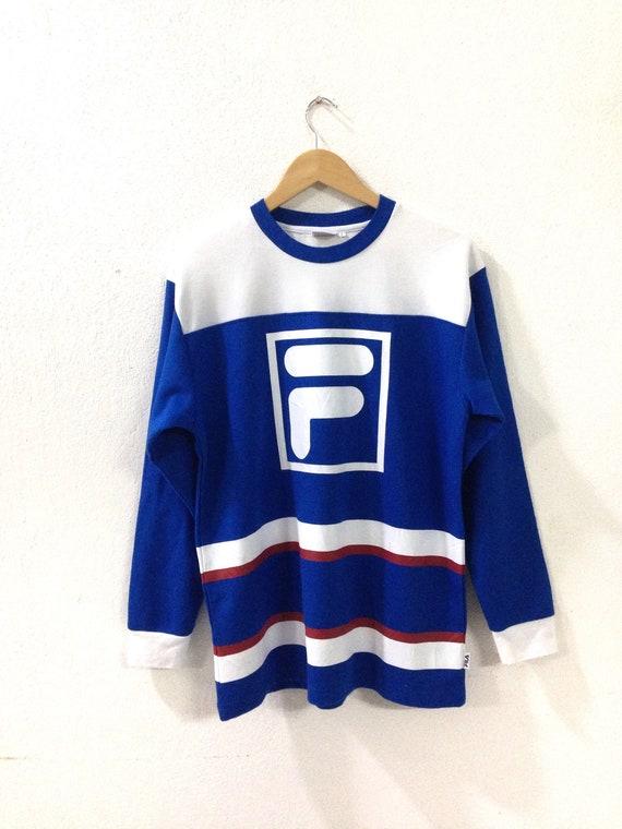 On Sale!! Vintage Fila sweatshirt / Fila Sweatshir