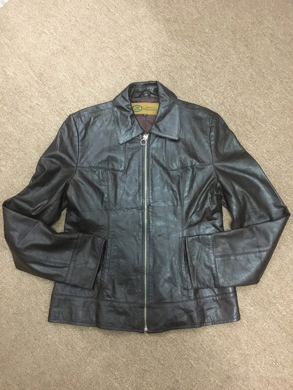 Vintage Jacket Paolo Gucci/Paolo Gucci leather Jac